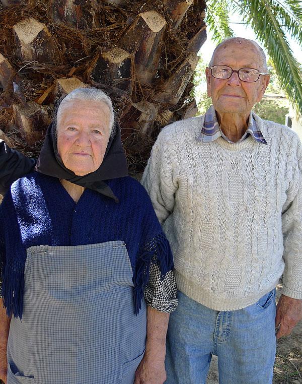 Francisca y Toni, 61 años casados